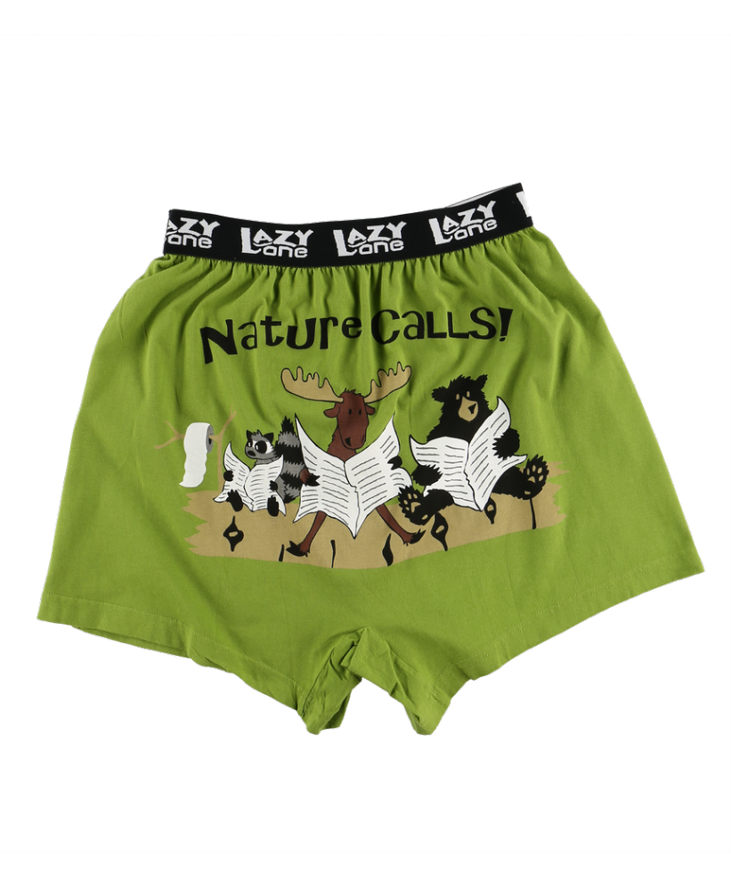 Nature Calls - Men's Boxer Shorts - Lazy One®